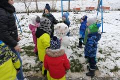 Stavíme sněhuláka
