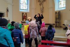 Návštěva kostela - Betlém